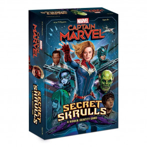 Captain Marvel Secret Skulls Brettspiel