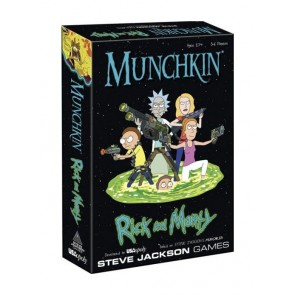 Munchkin Kartenspiel Rick and Morty