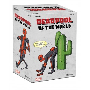 Deadpool Party-Kartenspiel Deadpool vs The World