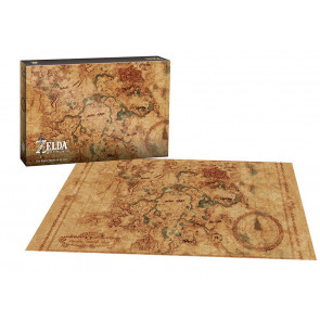 Legend of Zelda Breath of the Wild Hyrule Map Puzzle