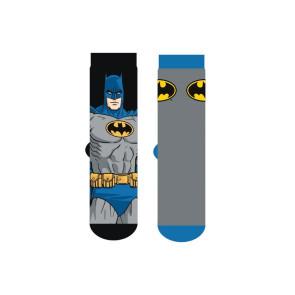 DC Comics Herren Socken Doppelpack Batman Logo Cape