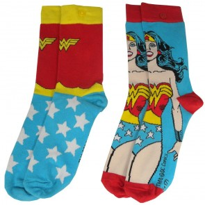 DC Comics Damen Socken Doppelpack Wonder Woman