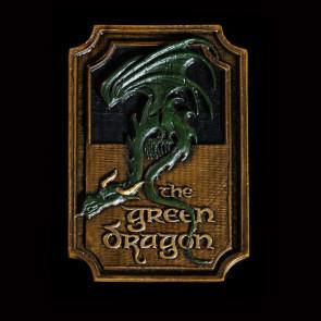 Herr der Ringe Magnet The Green Dragon