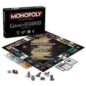Game of Thrones Monopoly Brettspiel Collectors Edition