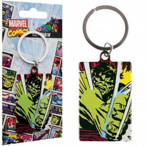 Marvel Comics Metall Schlüsselanhänger Incredible Hulk 6 cm