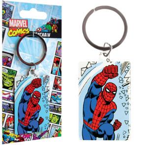 Marvel Comics Metall Schlüsselanhänger Spider-Man 6 cm