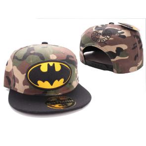 Batman Baseball Cap Camouflage Logo