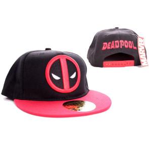 Marvel Comics Baseball Cap Deadpool Logo