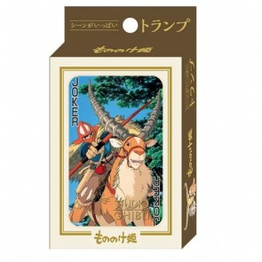 Prinzessin Mononoke Spielkarten