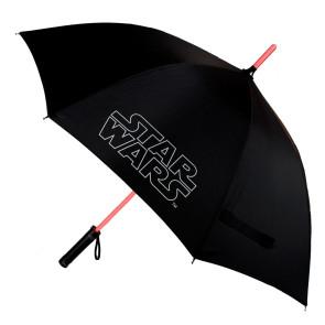 Star Wars Regenschirm mit Leuchtfunktion Lichtschwert
