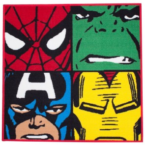 Marvel Comics Bettvorleger Defenders 74 x 74 cm