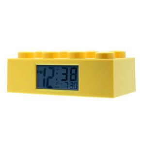 Lego Wecker Lego Stein gelb