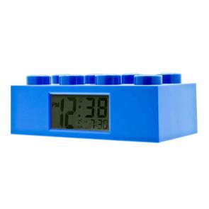 Lego Wecker Lego Stein blau