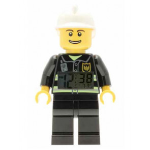 Lego City Fireman Wecker