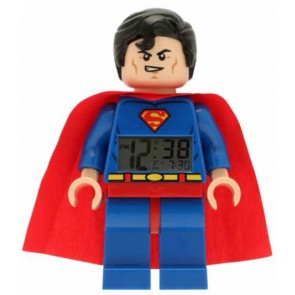 Lego DC Comics Super Heroes Wecker Superman