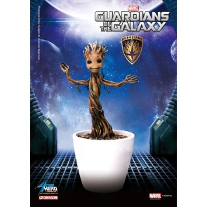 Guardians of the Galaxy Baby Groot Action Hero Vignette Statue 18 cm