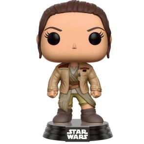 Star Wars VII Rey in Finns Jacket POP! Figur 9 cm