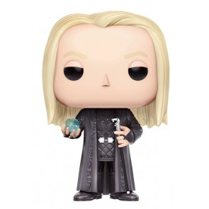 Harry Potter Lucius Malfoy POP! Figur Holding Prophecy 9 cm