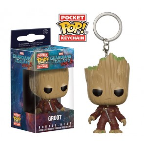 Guardians of the Galaxy Vol. 2 Pocket POP! Vinyl Schlüsselanhänger Groot 4 cm