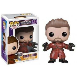 Guardians of the Galaxy Unmasked Star Lord POP! Figur 9 cm Exclusive