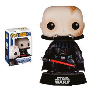 Star Wars Unmasked Darth Vader POP! Wackelkopf Figur 9 cm