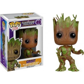 Guardians of the Galaxy Groot Extra Mossy POP! Wackelkopf Figur 10 cm Exclusive