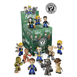 Fallout Mystery Minis Figuren 6 cm Display