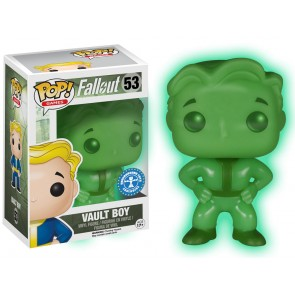 Fallout Vault Boy POP! Figur 9 cm Glow in the Dark