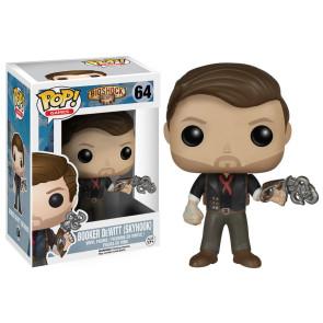 BioShock Booker DeWitt & Skyhook POP! Figur 9 cm