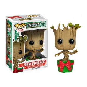 Guardians of the Galaxy Holiday Dancing Groot POP! Figur 10 cm