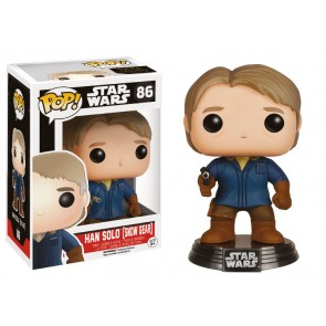 Star Wars VII Han Solo Snow Gear POP! Figur 9 cm Exclusive