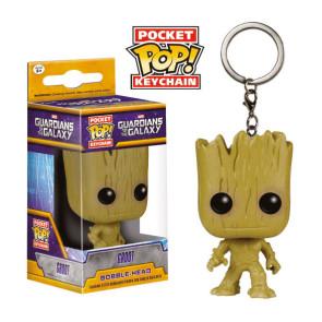 Guardians of the Galaxy Groot Pocket POP! Schlüsselanhänger 4 cm