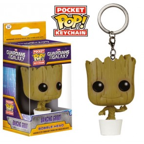 Guardians of the Galaxy Pocket Dancing Groot POP! Schlüsselanhänger 4 cm