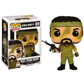 Call of Duty MSgt. Frank Woods POP! Figur 9 cm