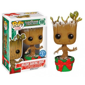 Guardians of the Galaxy Snowy Holiday Dancing Groot POP! Figur 9 cm Exclusive