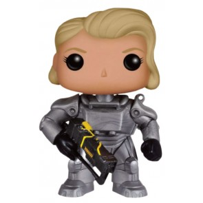 Fallout Female Warrior In Power Armor POP! Figur 9 cm Exclusive