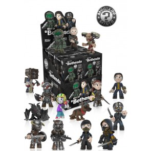 Bethesda All Stars Mystery Minis Figuren 6 cm Display