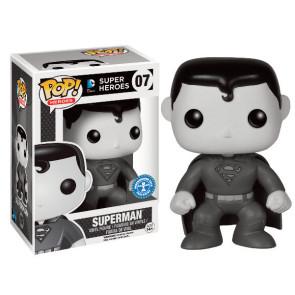 DC Comics Superman POP! Black & White Figur 9 cm Exclusive
