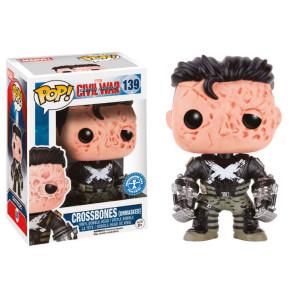 Captain America CW Crossbones Unmasked POP! 9 cm Exclusive