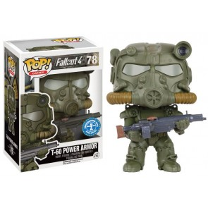 Fallout 4 T-60 Power Armor Green POP! Figur 9 cm Exclusive