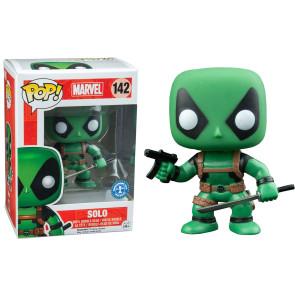 Marvel Comics Deadpool Green Solo POP! 9 cm Exclusive