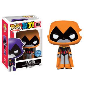 Teen Titans Go! Raven Orange POP! Figur 9 cm Exclusive