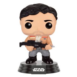 Star Wars VII Poe Dameron POP! Figur Resistance 9 cm Limited