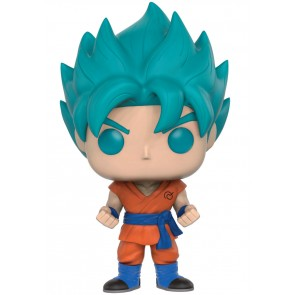 Dragonball Z Super Saiyan God Super Saiyan Goku POP! Figur Blue 9 cm Exclusive