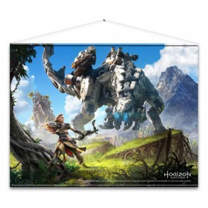 Horizon Zero Dawn Wandrolle Cover Art 100 x 77 cm
