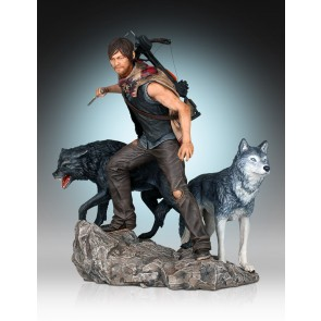 The Walking Dead Daryl Dixon and the Wolves 1/8 Statue 26 cm