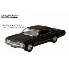 Supernatural Diecast Modell 1/64 1967 Chevrolet Impala Sedan