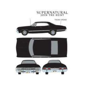 Supernatural Diecast Modell 1/24 1967 Impala Sport Sedan