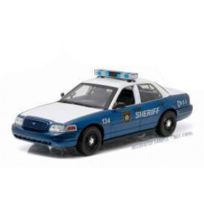 Walking Dead RC Auto 1/18 2001 Ford Crown Victoria Police Interceptor