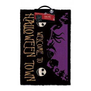 Nightmare Before Christmas Fußmatte Halloween Town 40 x 60 cm